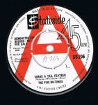 The Five Du Tones Shake A Tail Feather Stateside Uk Demo EX-